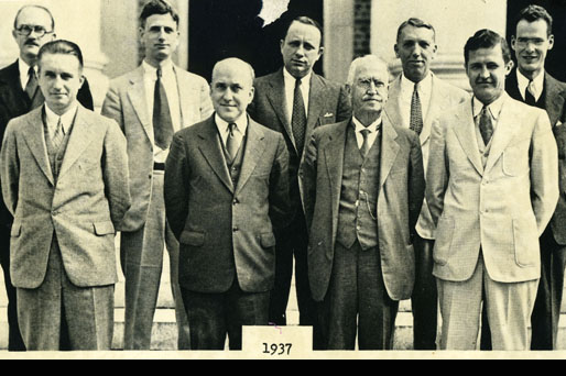 Faculty Members in 1937
