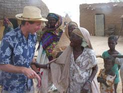 Prof. Kelley in Niger