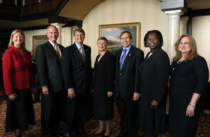 Raleigh Alumni Reception with NC Supreme Court