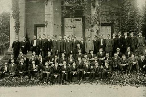 Law students in 1914