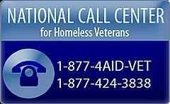 National Call Center for Homeless Veterans