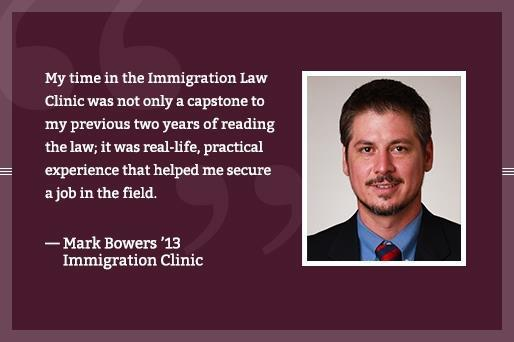 Immigration Law - Mark Bowers