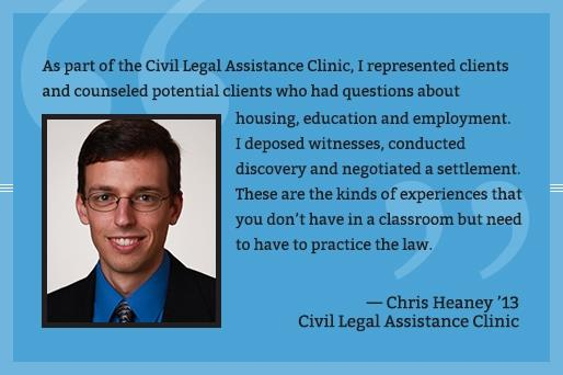 Chris Heaney - Civil Legal Assistance Clinic