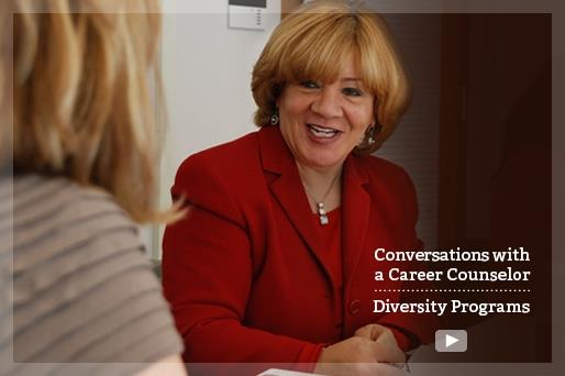 Conversations with a Career Counselor: Diversity Programs