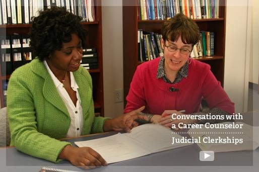 Conversations with a Career Counselor: Judicial Clerkships