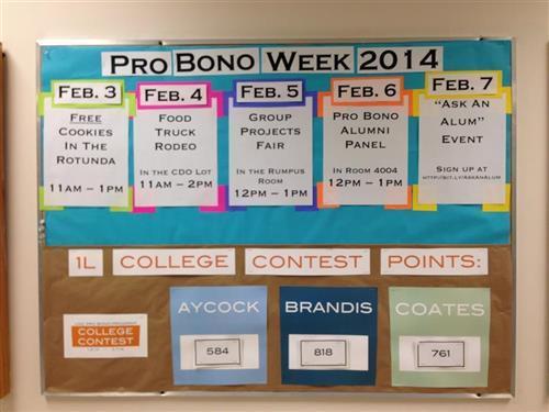 Pro Bono Bulletin Board