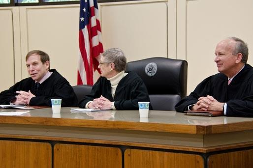 Winners of Oral Argument Portion of 1L Holderness Competition