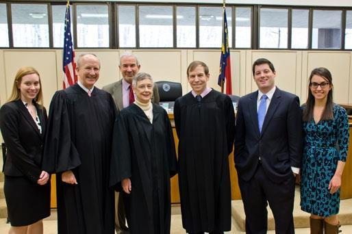 Holderness Board Members with Justices