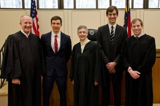 Top Appellate Advocates with Justices