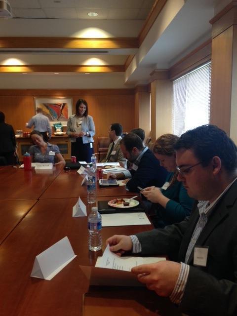April Pro Bono Alumni Board Meeting