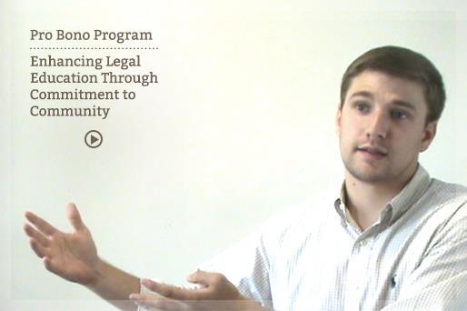 Pro Bono Program Video