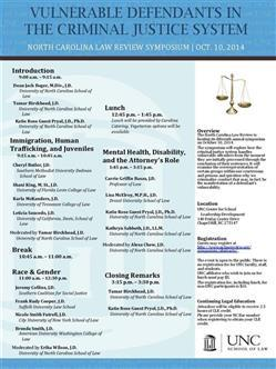 NC Law Review Symposium 2014