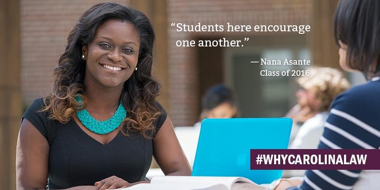 Why Carolina Law: Nana Asante '16