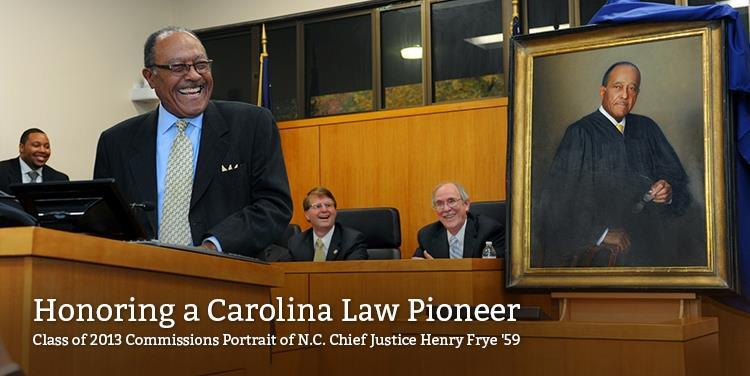 Honoring a Carolina Law Pioneer: Henry E. Frye '59