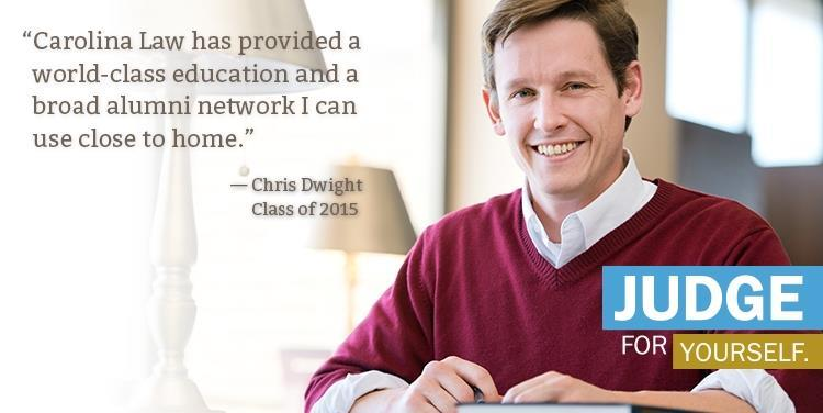 Why Carolina Law: Chris Dwight '15