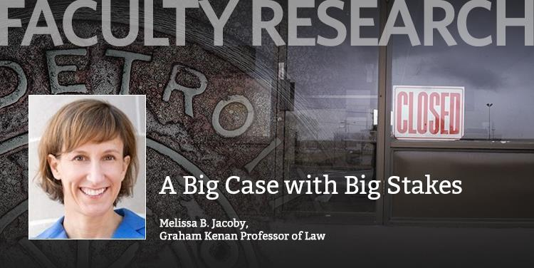 "Faculty Research: ""A Big Case with Big Stakes"""