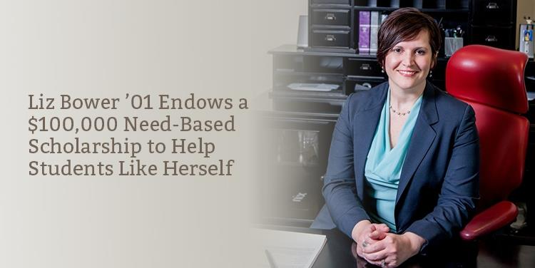 Liz Bower '01: Paving the Way for Others