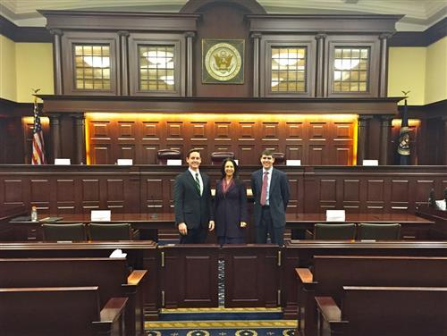 UNC Students at the INTA Moot Court Competition