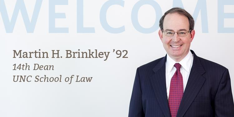 Martin H. Brinkley '92 Named 14th Dean