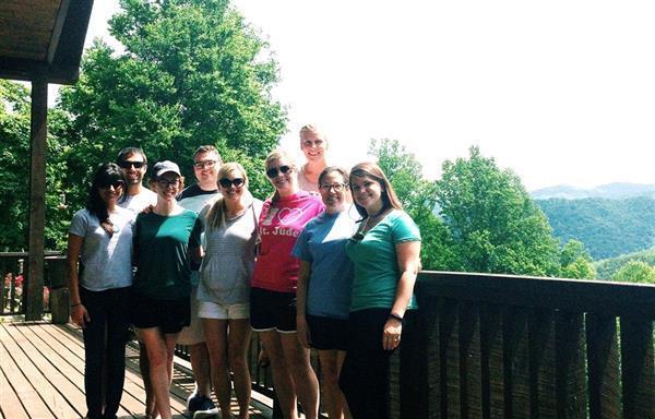 Pro Bono Board members gather for summer planning retreat.