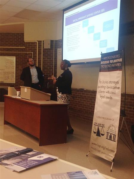 LSSP CLE Presentation at Pathways to Pro Bono, Fall 2015