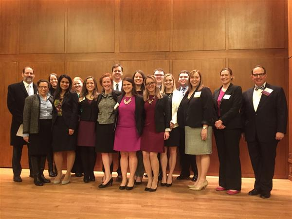 Pro Bono Students and Alumni at the Witt Professionalism Roundtable 2016