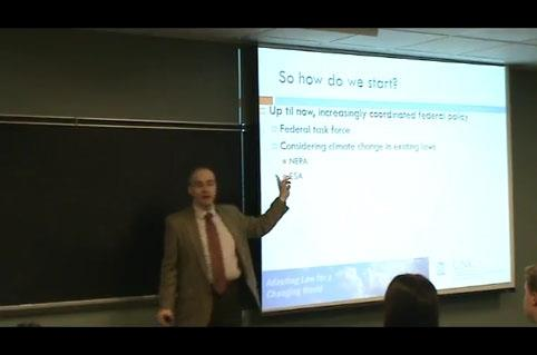 Victor Flatt at University of Richmond Law School