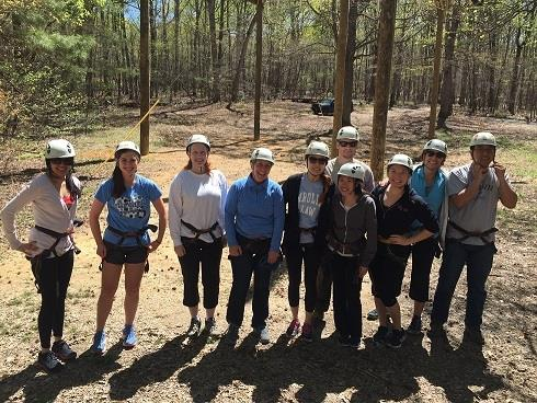 Externship Ropes Course Photo