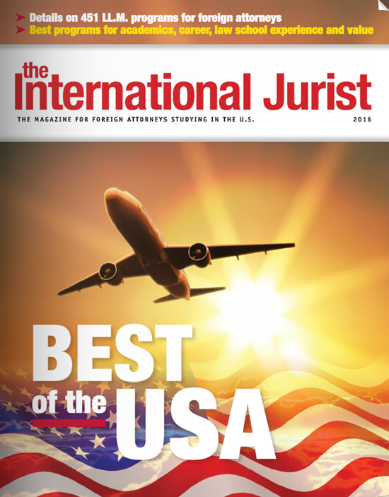 The best LL.M. programs ranked by The International Jurist Magazine