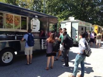 Students at 2016 Pro Bono Food Truck Rodeo