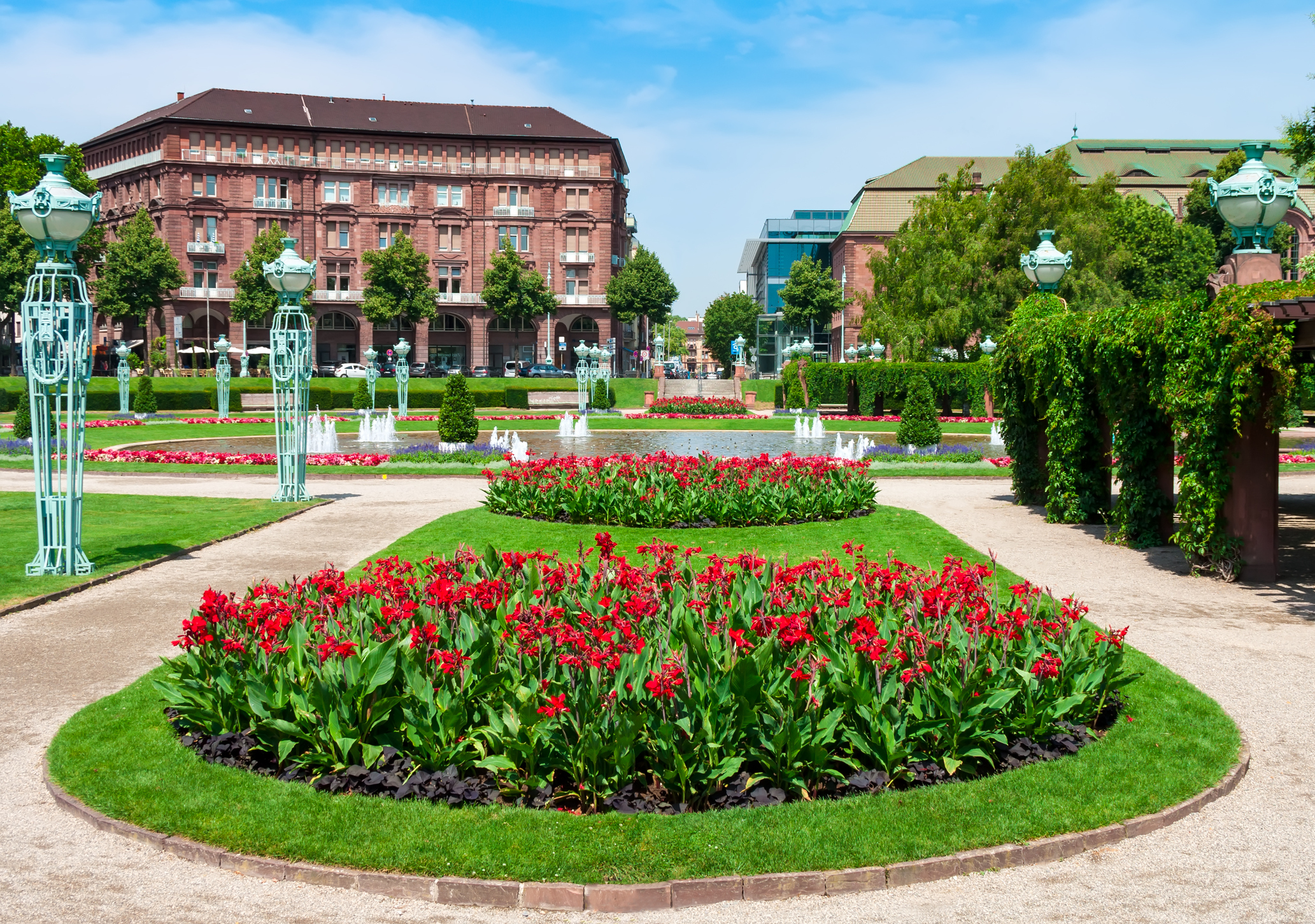 Mannheim during the day