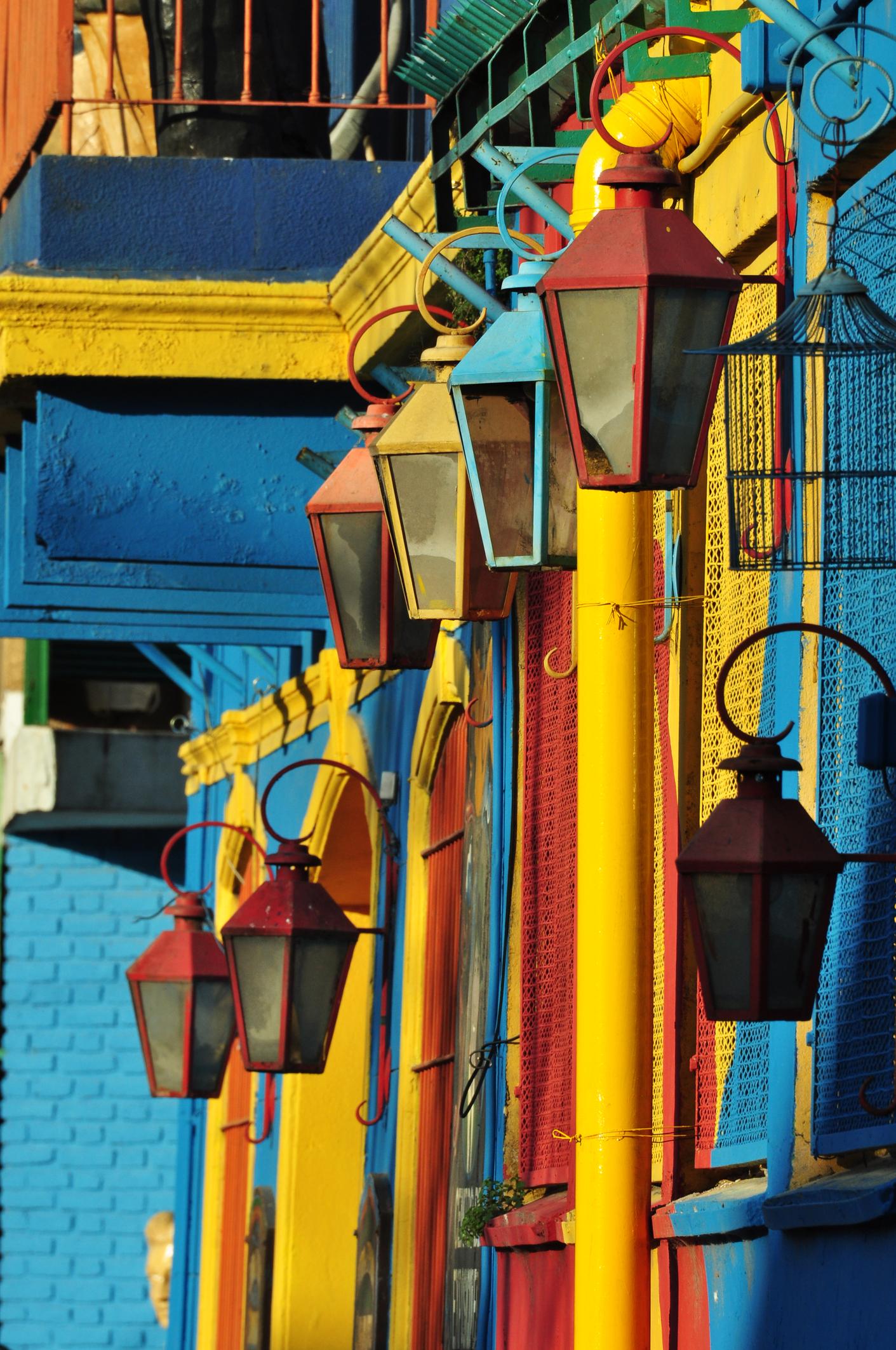 A city of colors