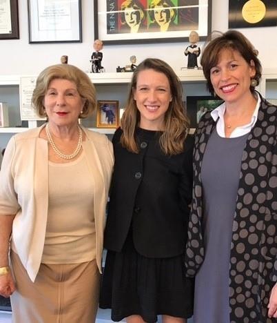 Nina Totenberg, Lauren Russell, Maria Savasta-Kennedy