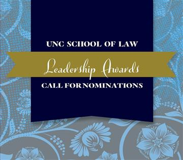 Alumni Leadership Awards - Call for Nominations