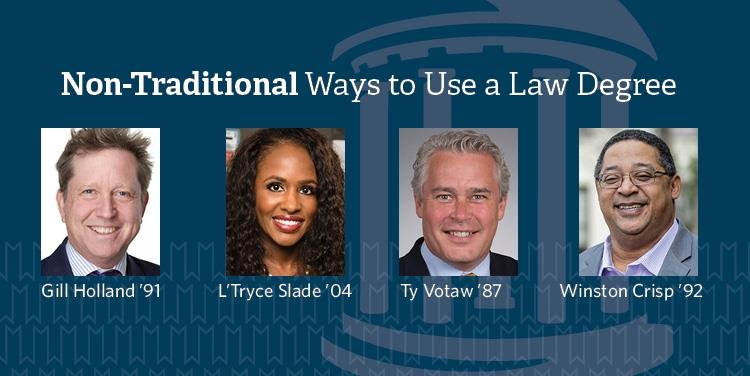 Alumni: Non-Traditional Ways to Use a Law Degree