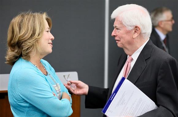 Sheila Bair & Chris Dodd