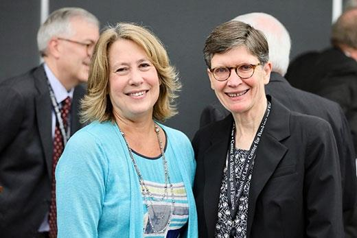 Former FDIC Chair Sheila Bair and UNC Banking Center Director Lissa Broome