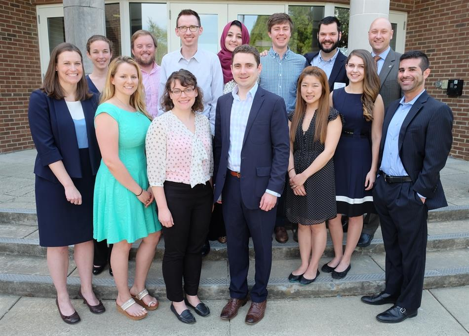 Incoming Pro Bono Board for 2017-2018 academic year