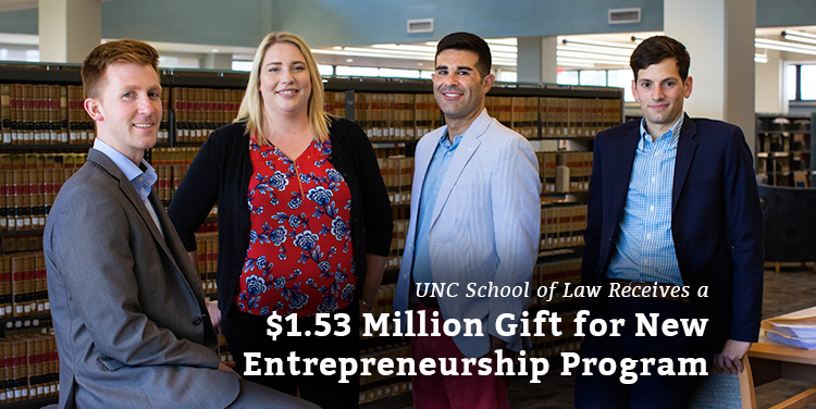 $1.53 Million Gift for New Entrepreneurship Program